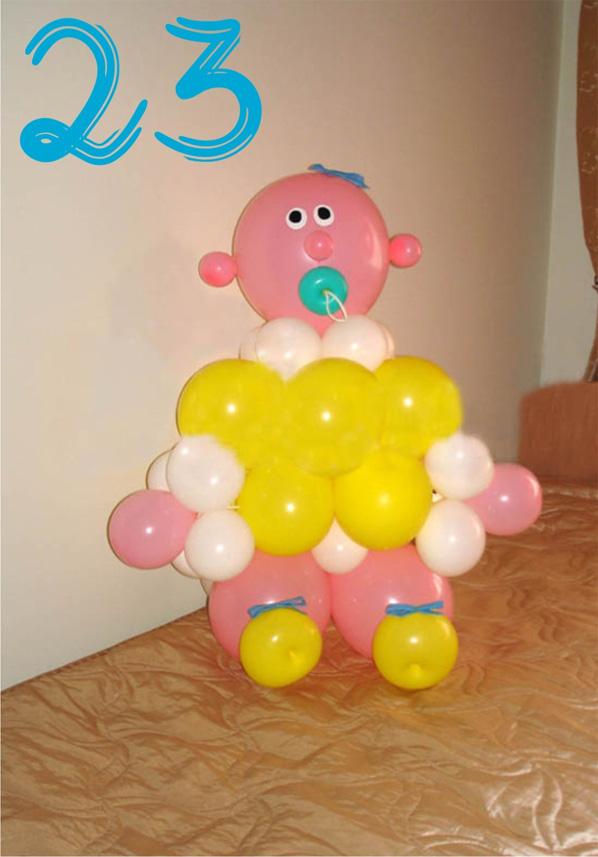 Из воздушных шаров своими руками для детей